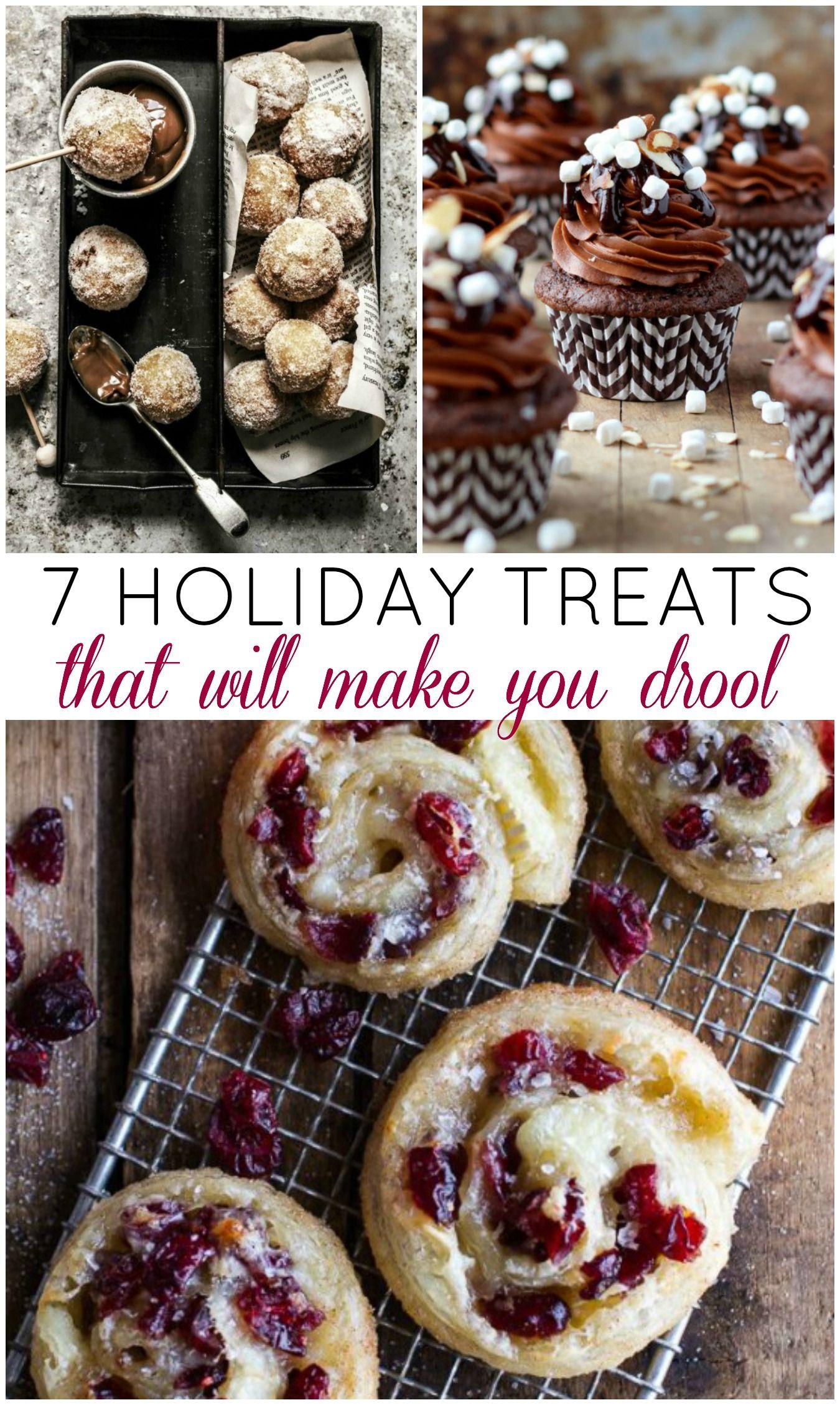 7 Yummy Holiday Treats to Make This Year - Recipes | Blogger Recipes ...