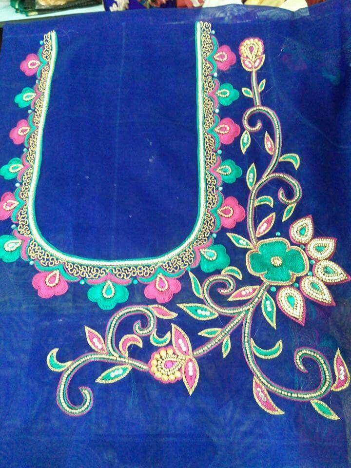 Pin By Sravanthi On Harini Fashions Blouse Designs Blouse Work