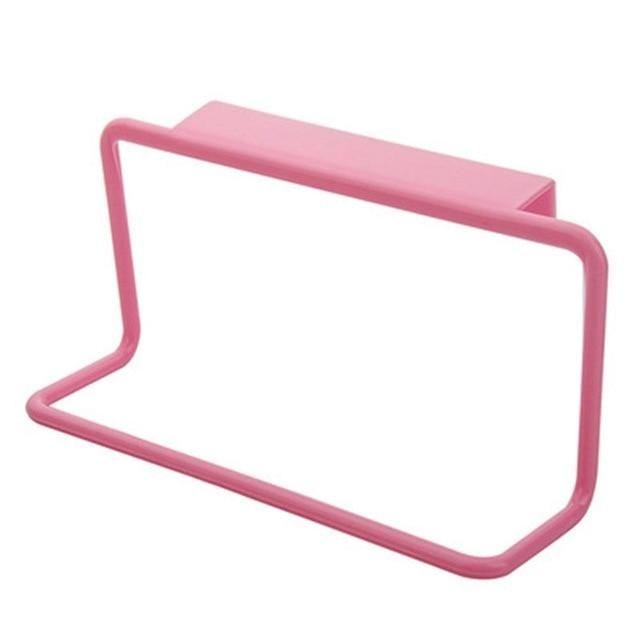 Photo of 1PC Kitchen Organizer Towel Rack – Pink
