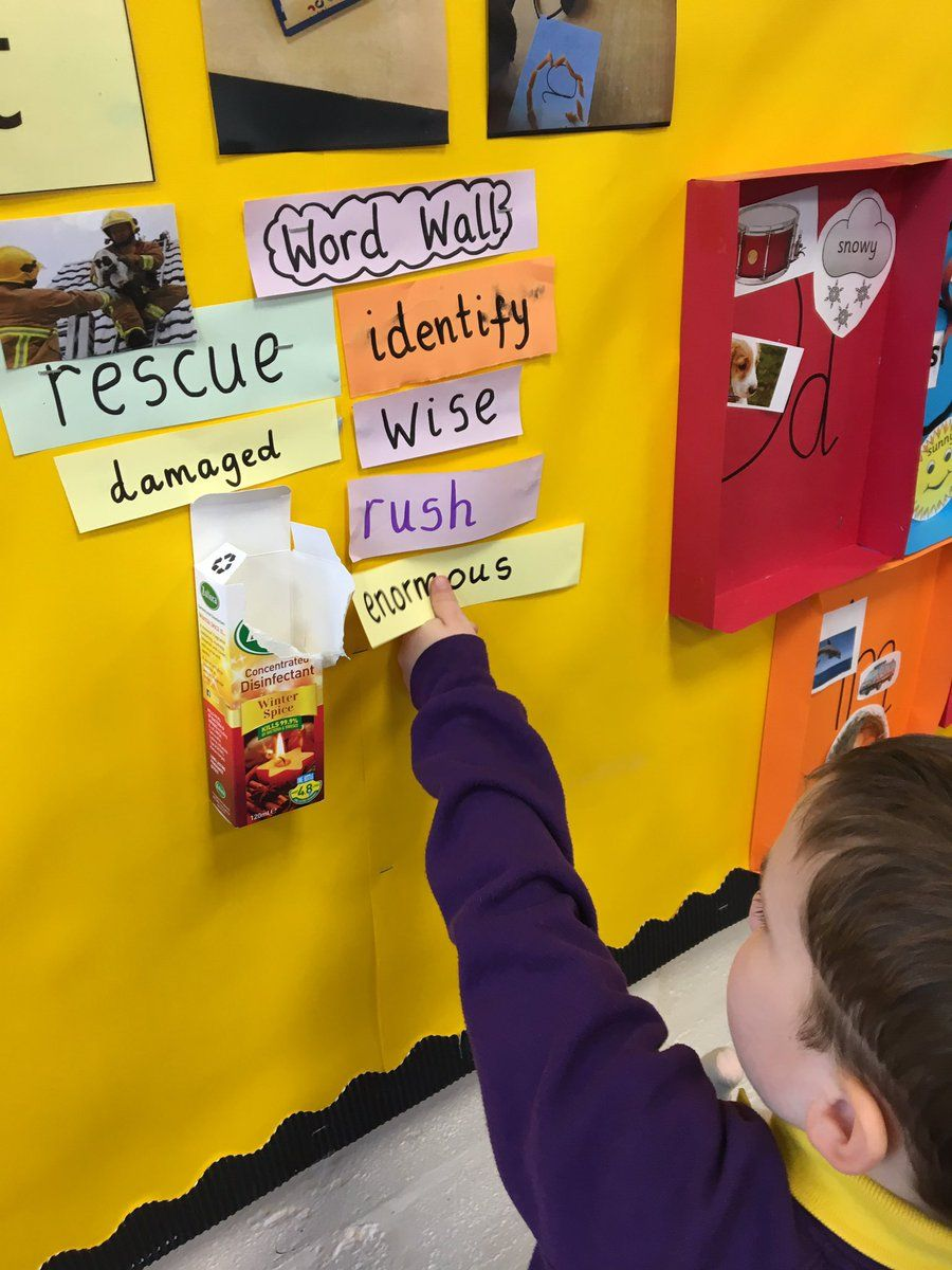 Adding the word to the word wall so it can be reviewed later. | Word ...