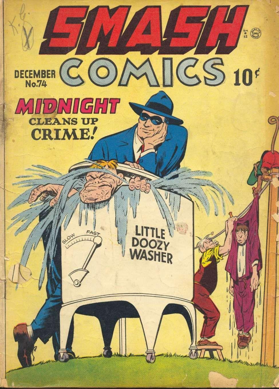 Comic Book Cover For Smash Comics #74