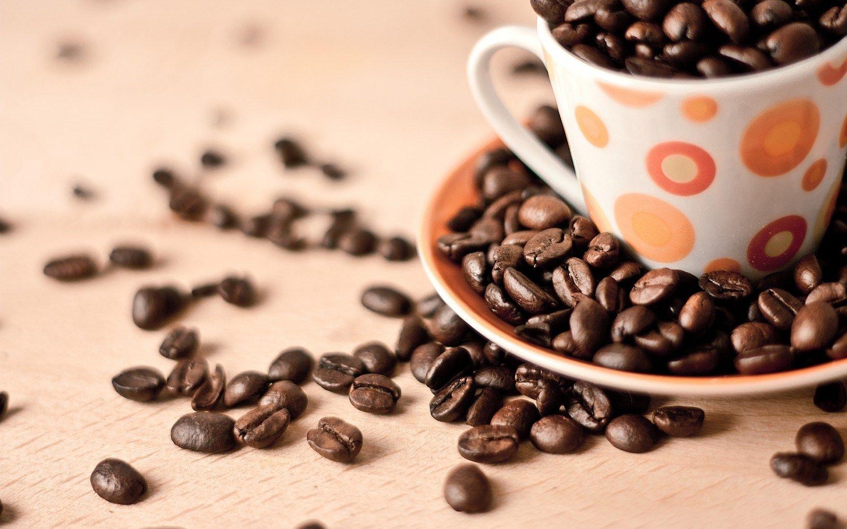Обои coffee beans, coffee, wood, кофе, чашки, кофейные зёрна. Еда foto 15