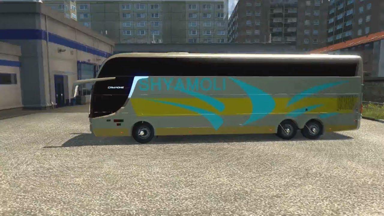 Euro Truck Simulator 2 Shyamoli Volvo bus driver's driving
