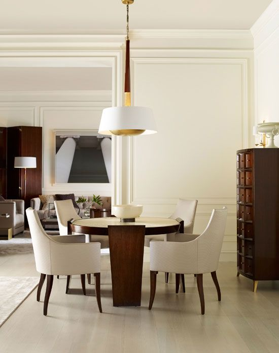 This Deceptively Simple Dining Room By Thomas Pheasant Is Built
