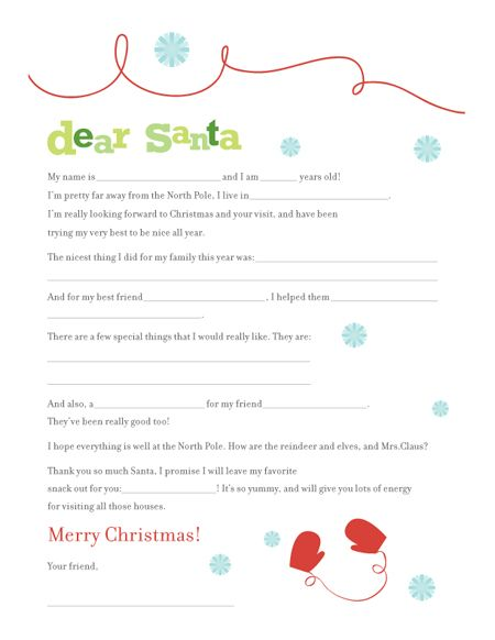 botanical paperworks free letter to santa printable
