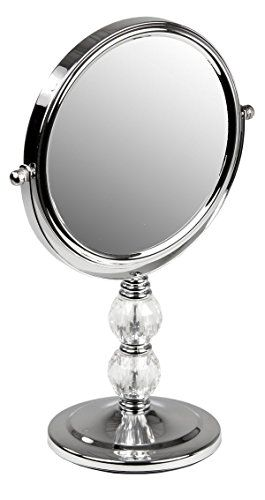Home Basics Cosmetic Mirror with Crystals | Cosmetic ...