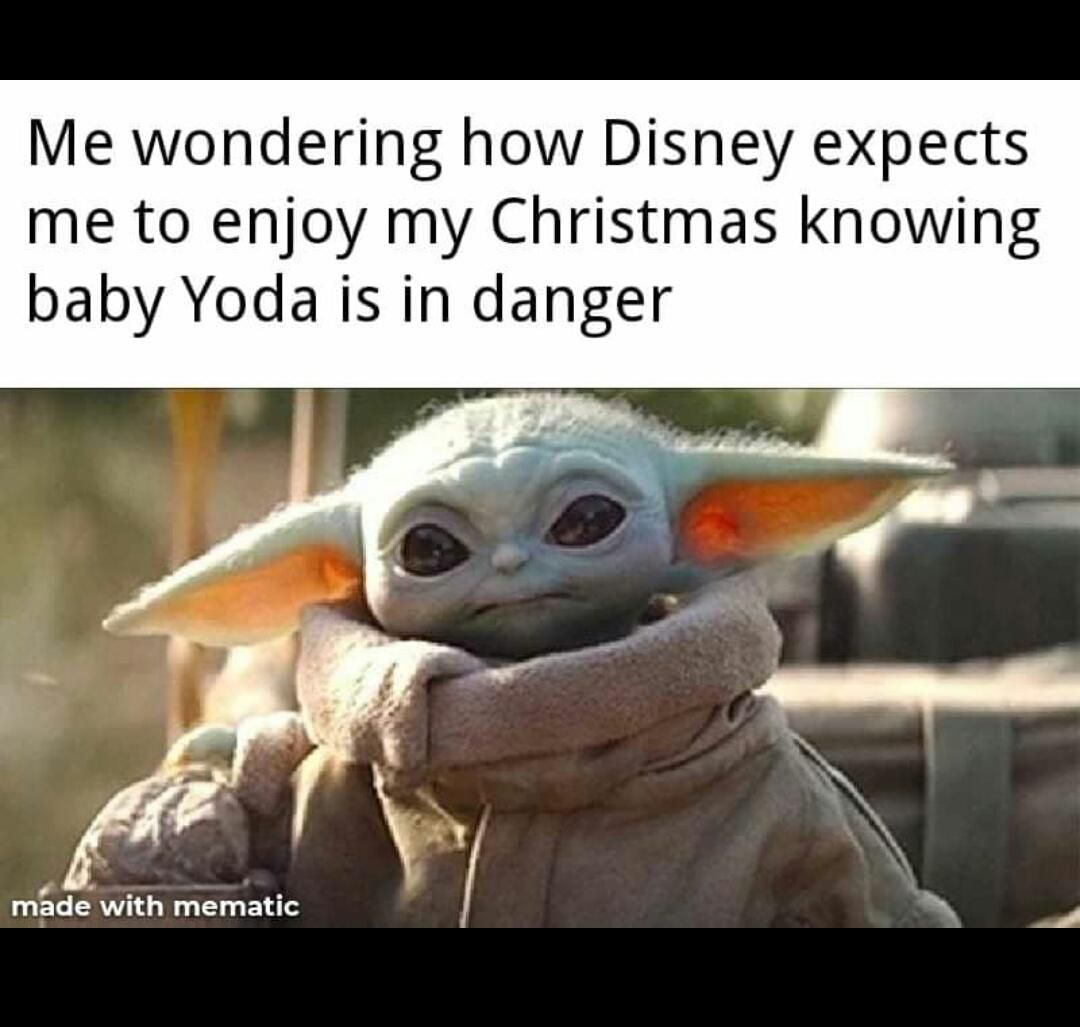 My Christmas Is Ruined R Yiddle Baby Yoda Grogu Star Wars Humor Star Wars Fandom Star Wars Memes