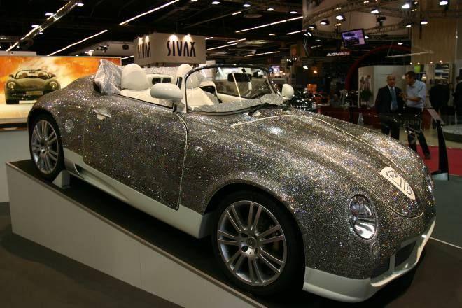 Swarovski PGO Omg. I want this car!!!