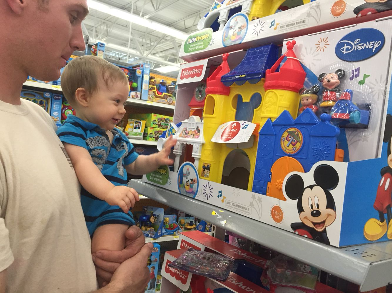 Happy Birthday Gifts Mickey Mouse Castle At Walmart In Toy Section