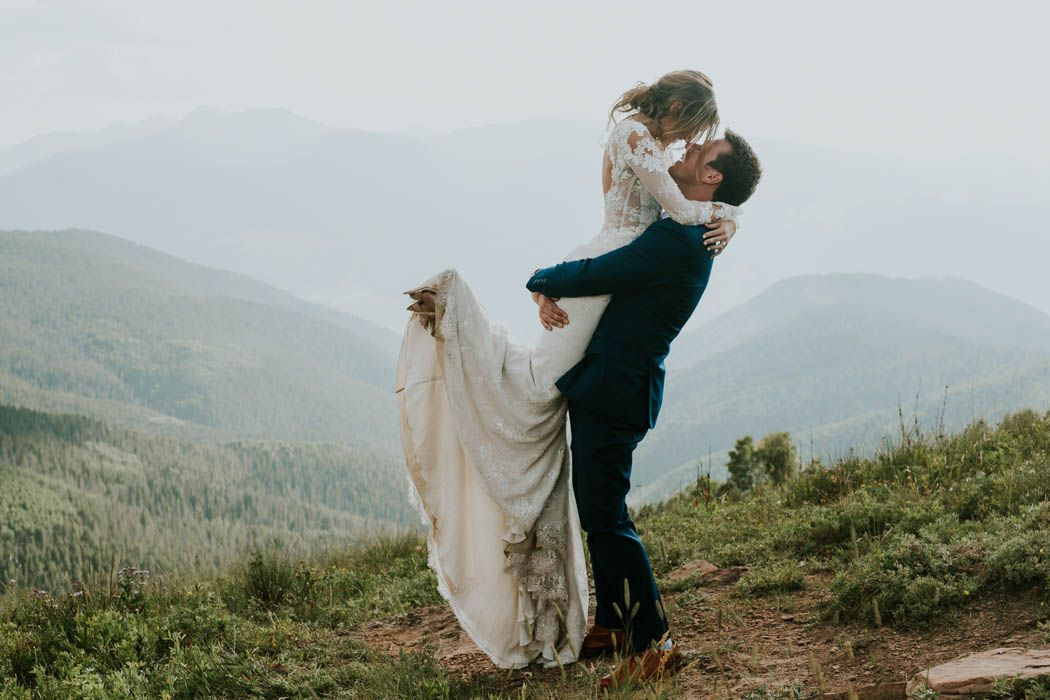 Stylish Vail Colorado Wedding at The Sonnenalp Vail colorado