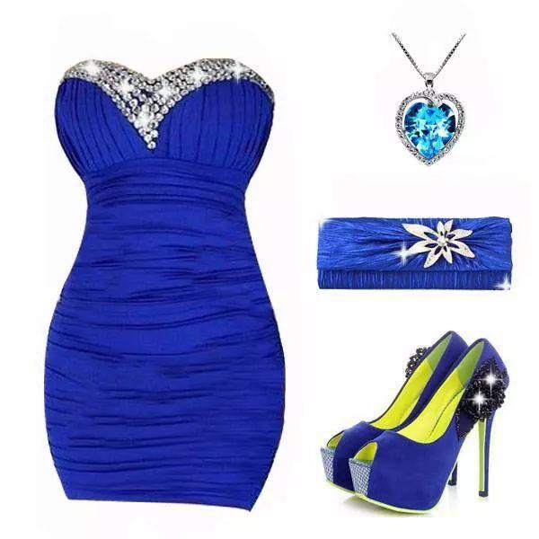 Linda combinaci n color azul rey este es un color hermoso for Combinaciones con azul