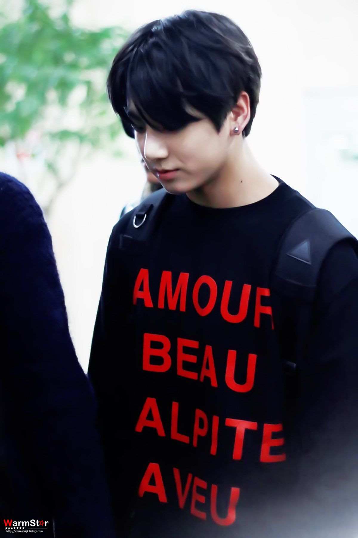 Google theme jungkook -  Picture Fansitesnap Bts Arrival At Gimpo Airport From Japan Jungkook Airport Fashion