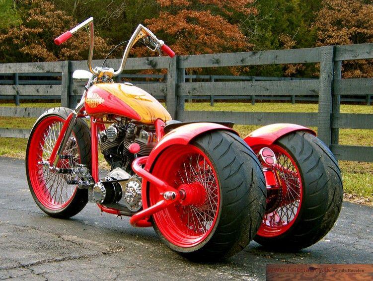 Hot Rod Harley >> Hot Rod Harley Trikes Tire Trike Hot Rod Shovelhead Bobber