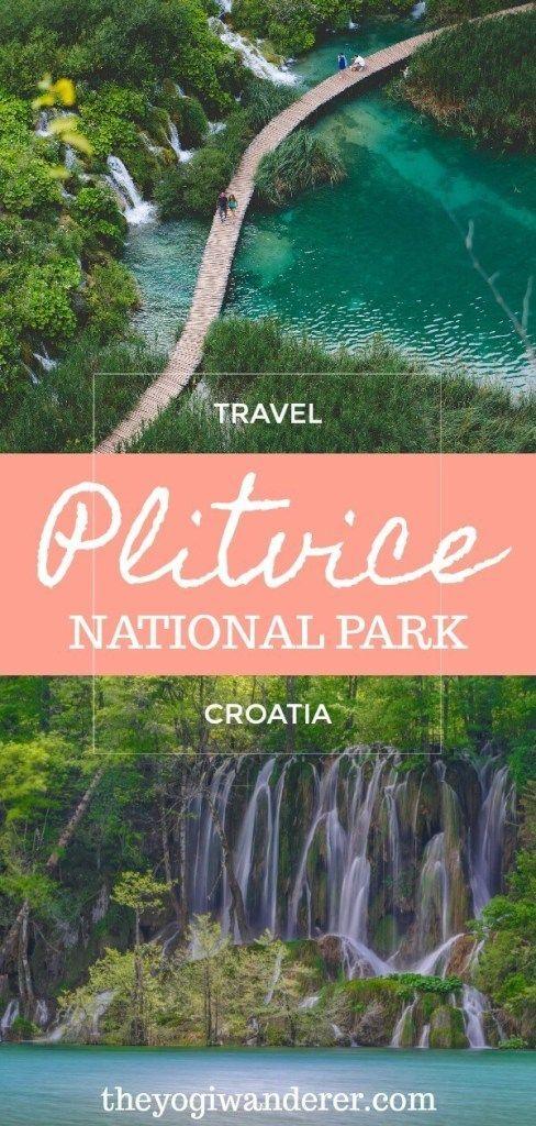 Zagreb To Plitvice Lakes Day Trip The Yogi Wanderer Plitvice Lakes Plitvice Lakes National Park Adventure Travel