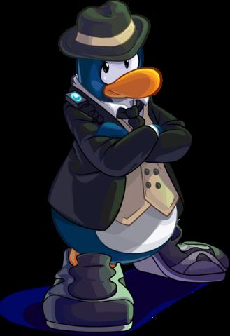 Penguin Style June 2015 Agent 2 Png Club Penguin Penguins Mario Characters