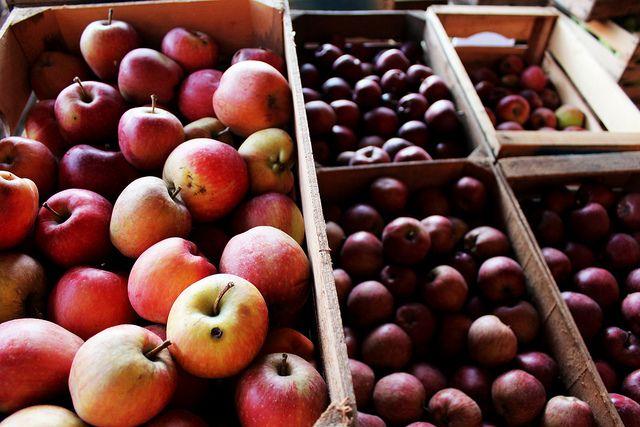 red apples by Cascina Danesa, via Flickr