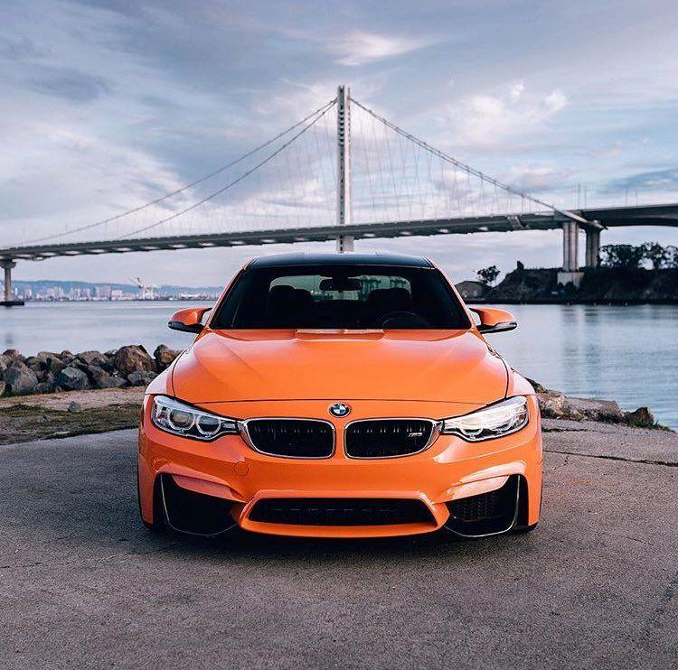 Orange Bmw Bmw Bmw E36 Bmw M5