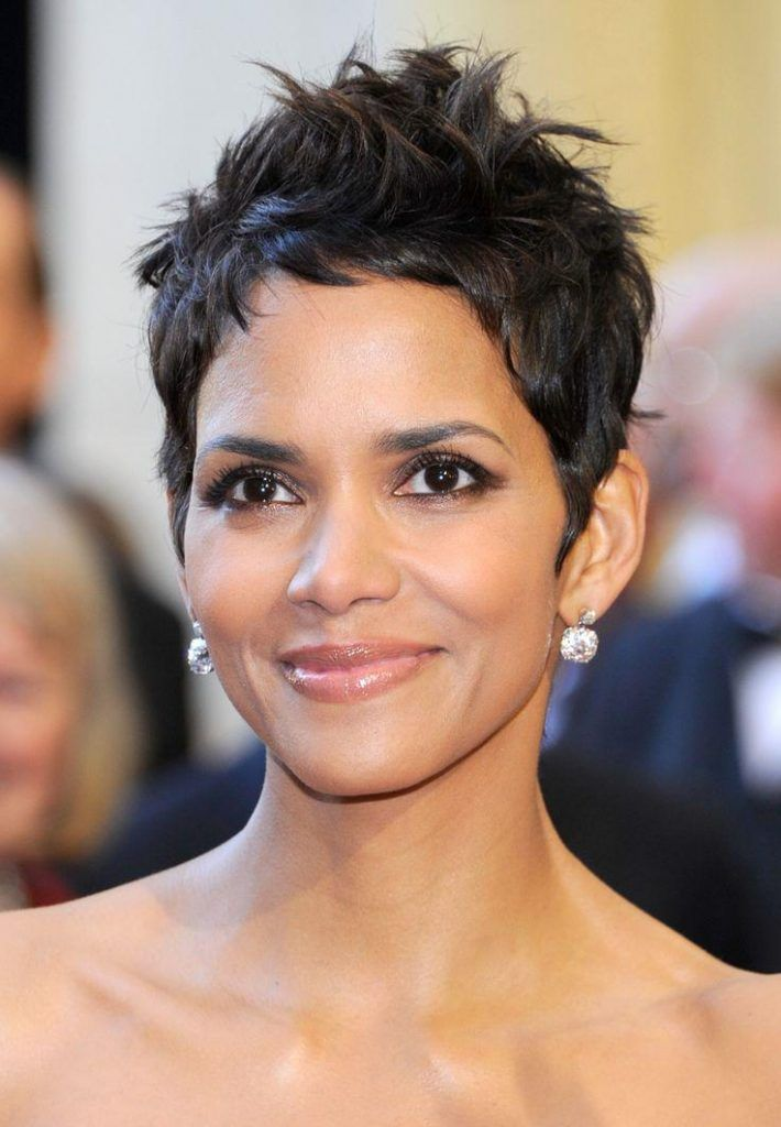 Top 22 Celebrities Short Hairstyles For Older Woman Stylendesigns Halle Berry Hairstyles Short Wavy Pixie Short Hair Styles