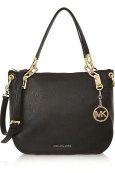 0f33d2228887 MICHAEL Michael Kors Brooke large textured-leather shoulder bag    NET-A-PORTER