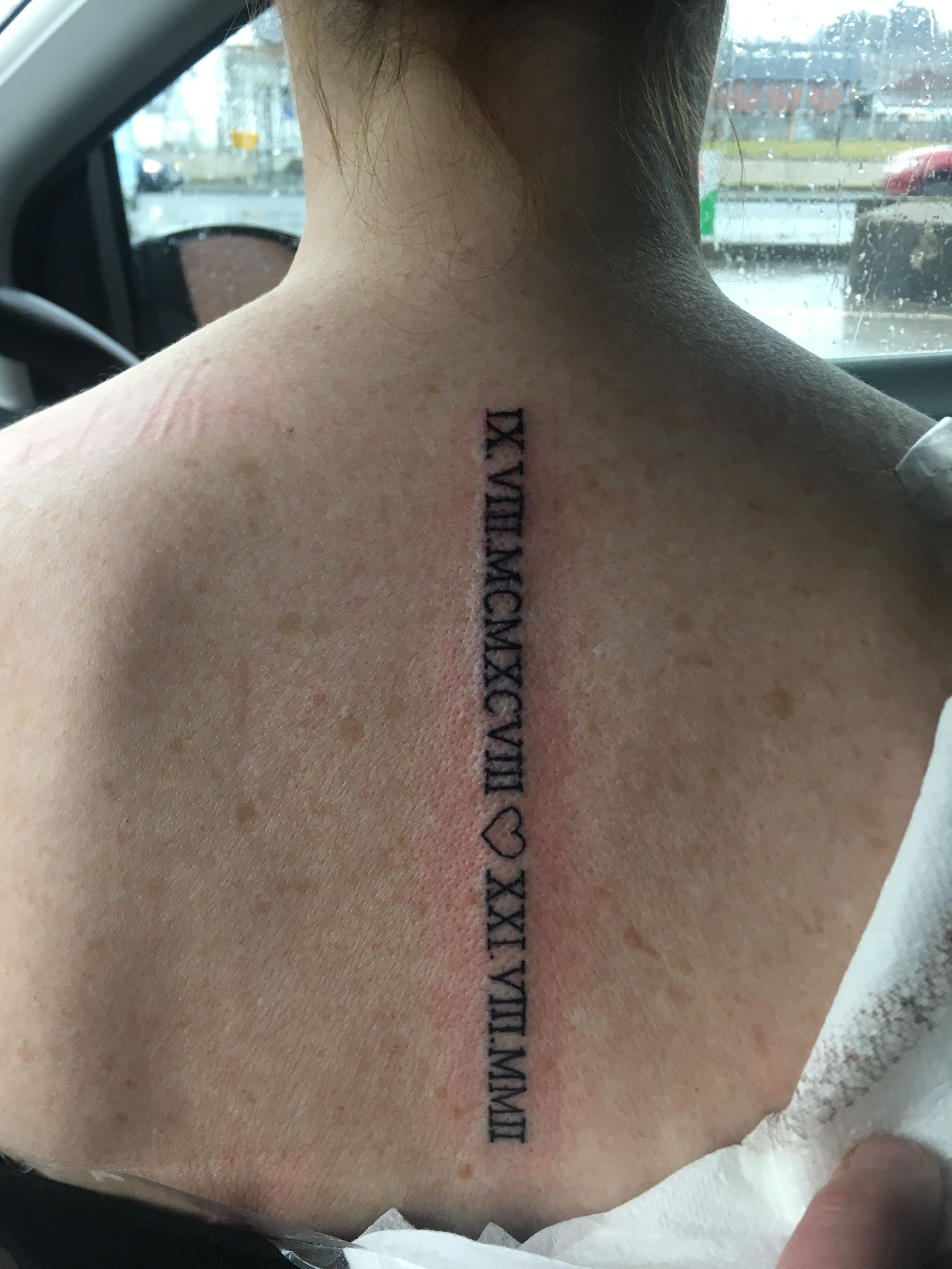 Roman Numerals On Spine So Happy With This