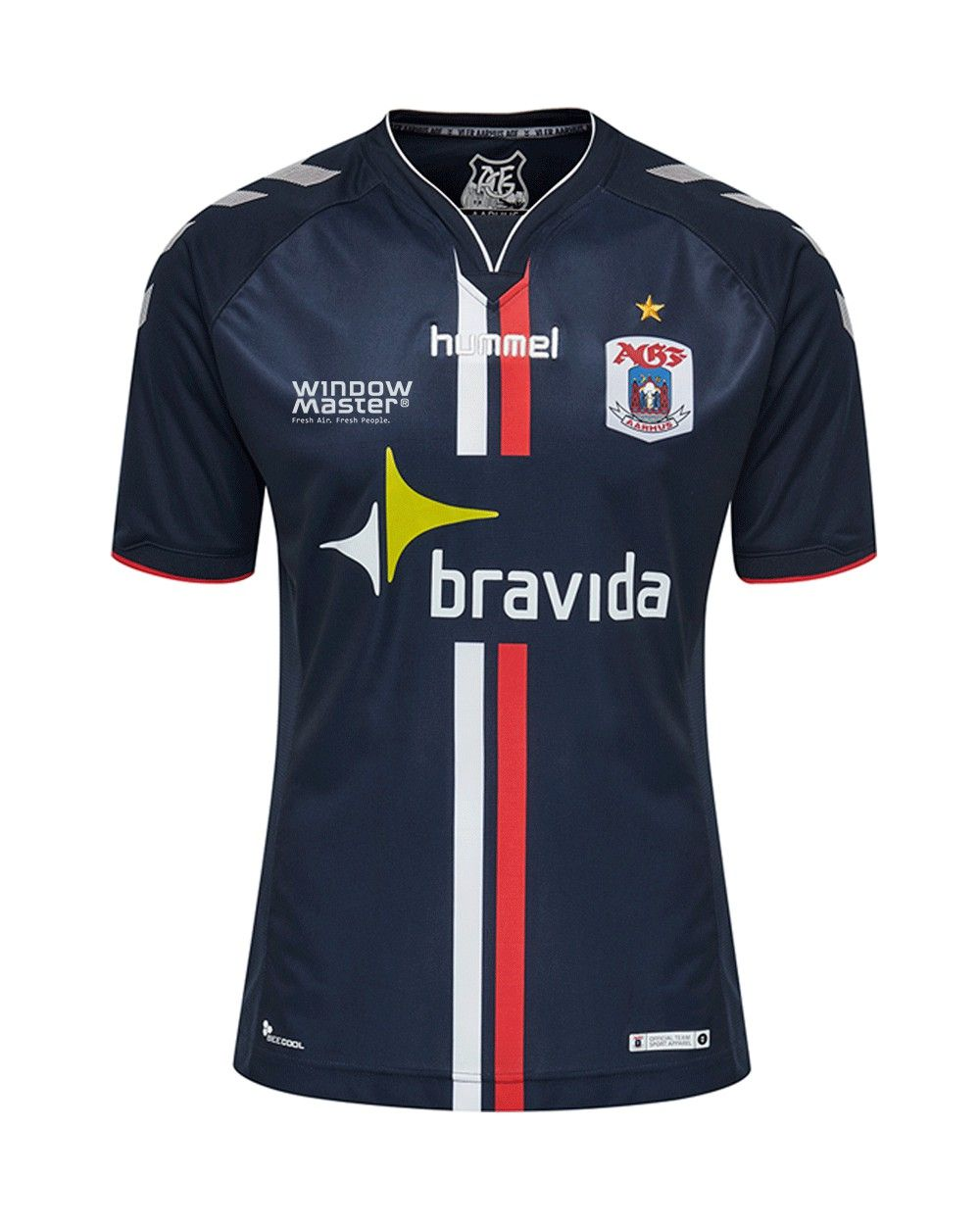 89b96de1cf0 Aarhus GF Hummel Away Kit 2018-19 | Football (soccer) | Soccer tips ...