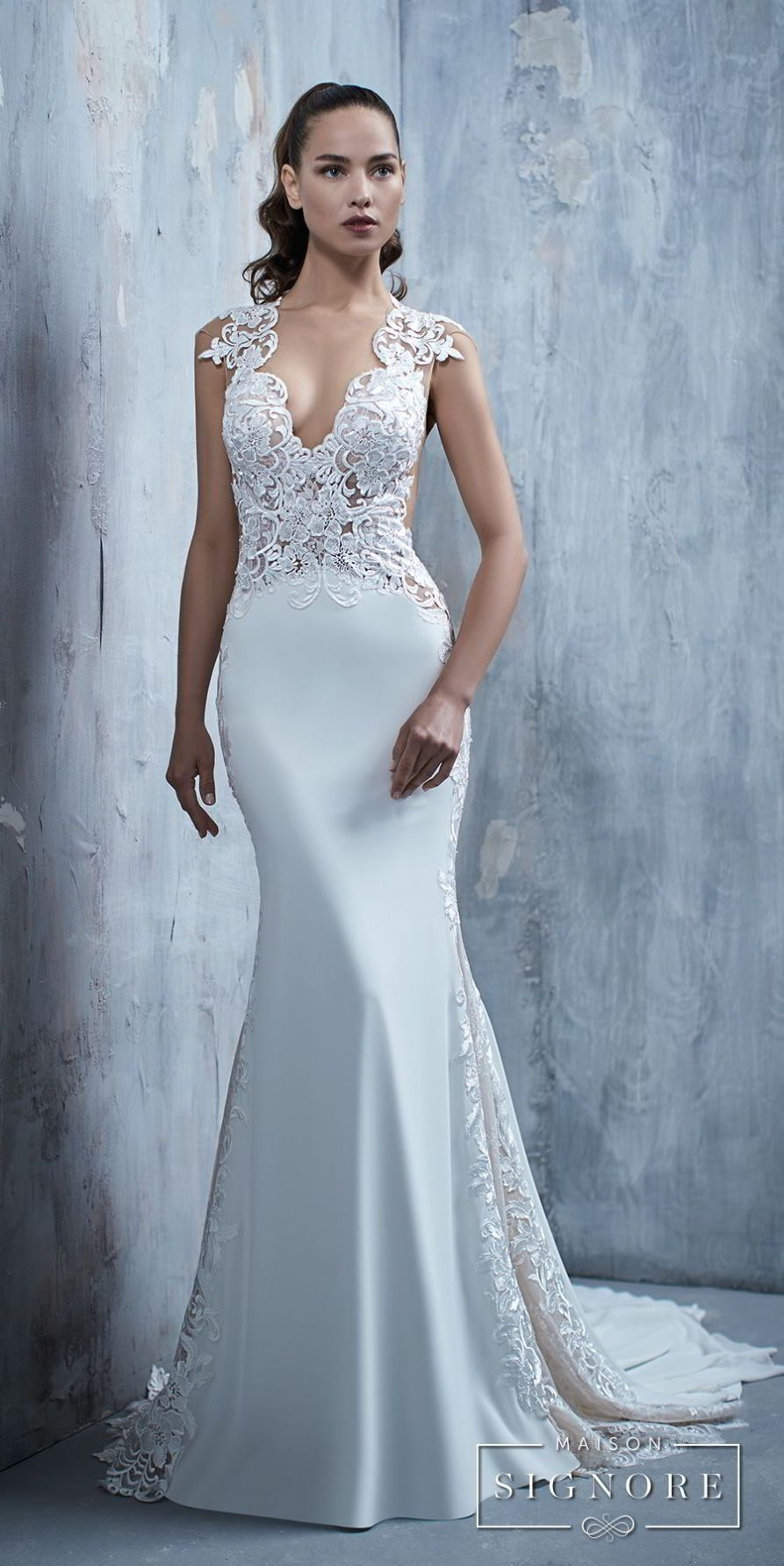 Maison signoreus stunning wedding dresses in touch with