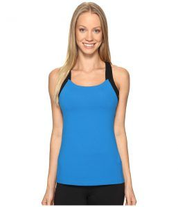 Lucy Fitness Fix Tank Top (Imperial Blue) Women's Sleeveless