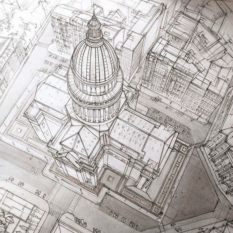 architectural hand drawings. Unique Hand Architecture Student Revives The Magic Of Architectural Hand Sketching  Through These Marvelous Sketches For Drawings