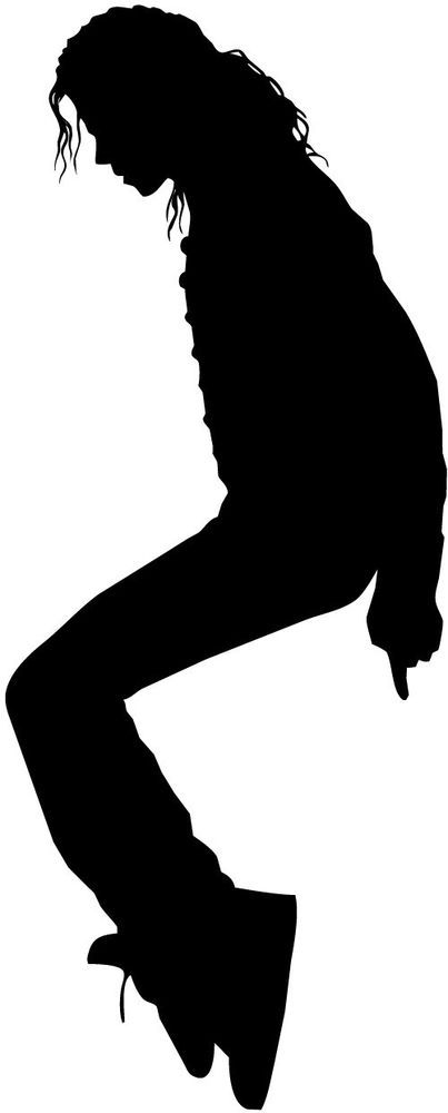 michael jackson silhouette car decal window sticker mj014 rh pinterest com michael jackson black and white clip art michael jackson black and white clip art