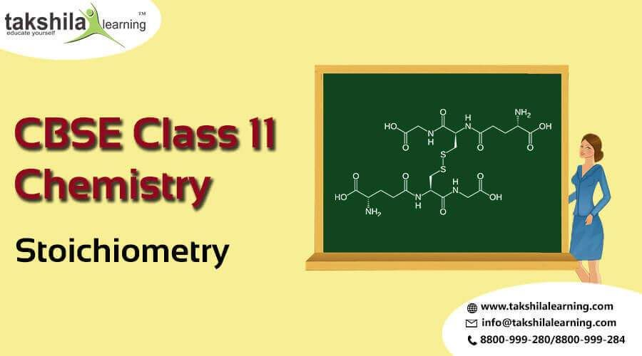 NCERT Solutions for Class 11 Chemistry Stoichiometry Notes