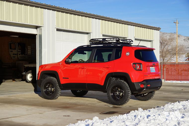 Jeep Renegade Trailhawk Lift >> Jeep Renegade Th With Daystar Lift Kit Installed Jeep Renegade