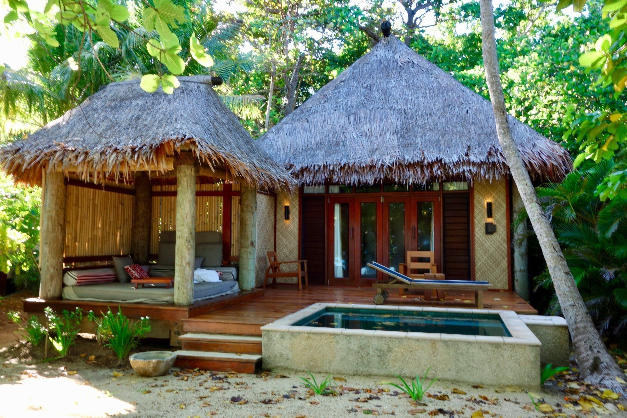 Modern nipa hut floor plans best of dazzling ideas house - Bamboo house design and floor plan ...