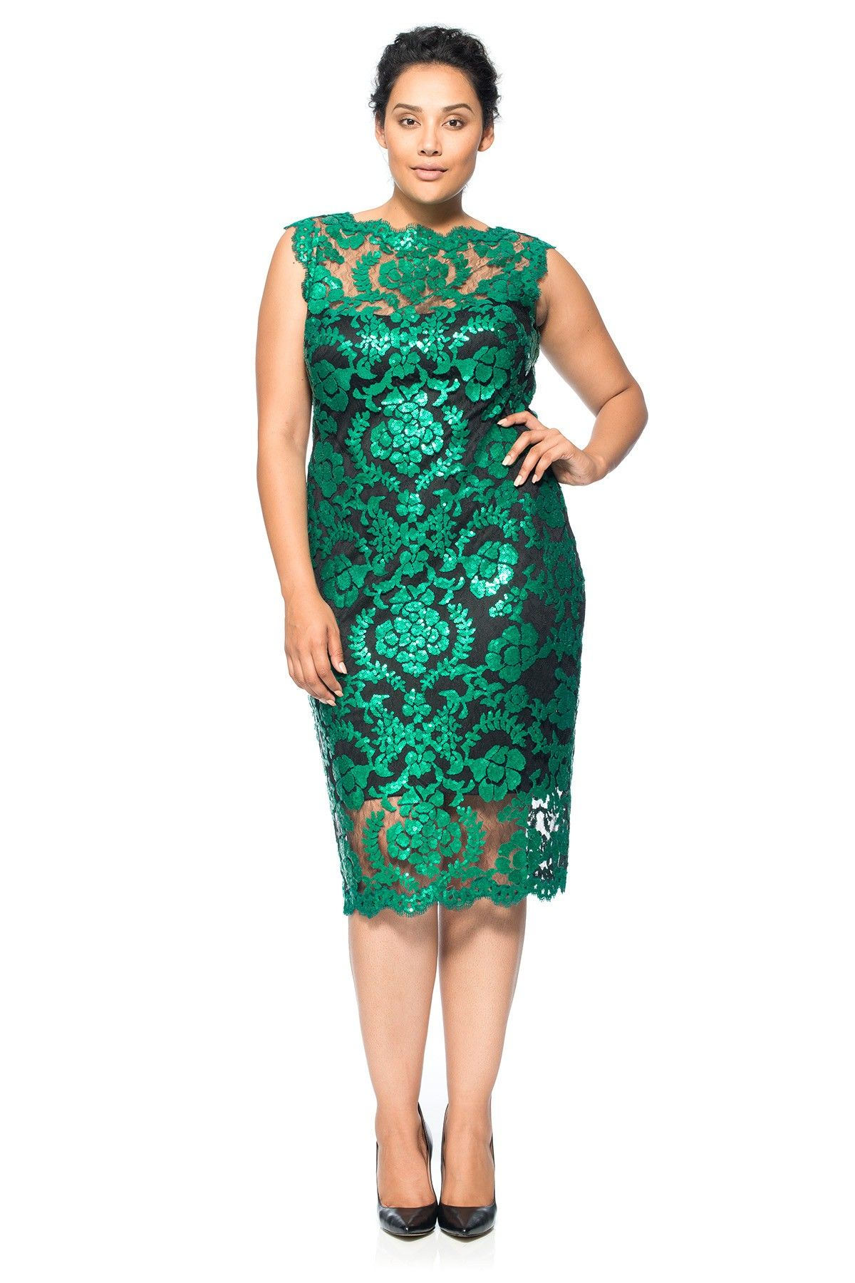Plus size fitted cocktail dresses