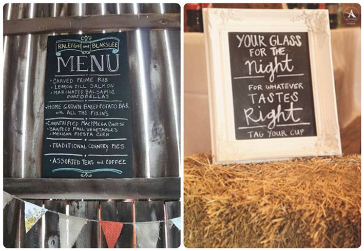 Top 10 barn wedding decor ideaschalkboards caroline luke top 10 barn wedding decor ideaschalkboards junglespirit Image collections