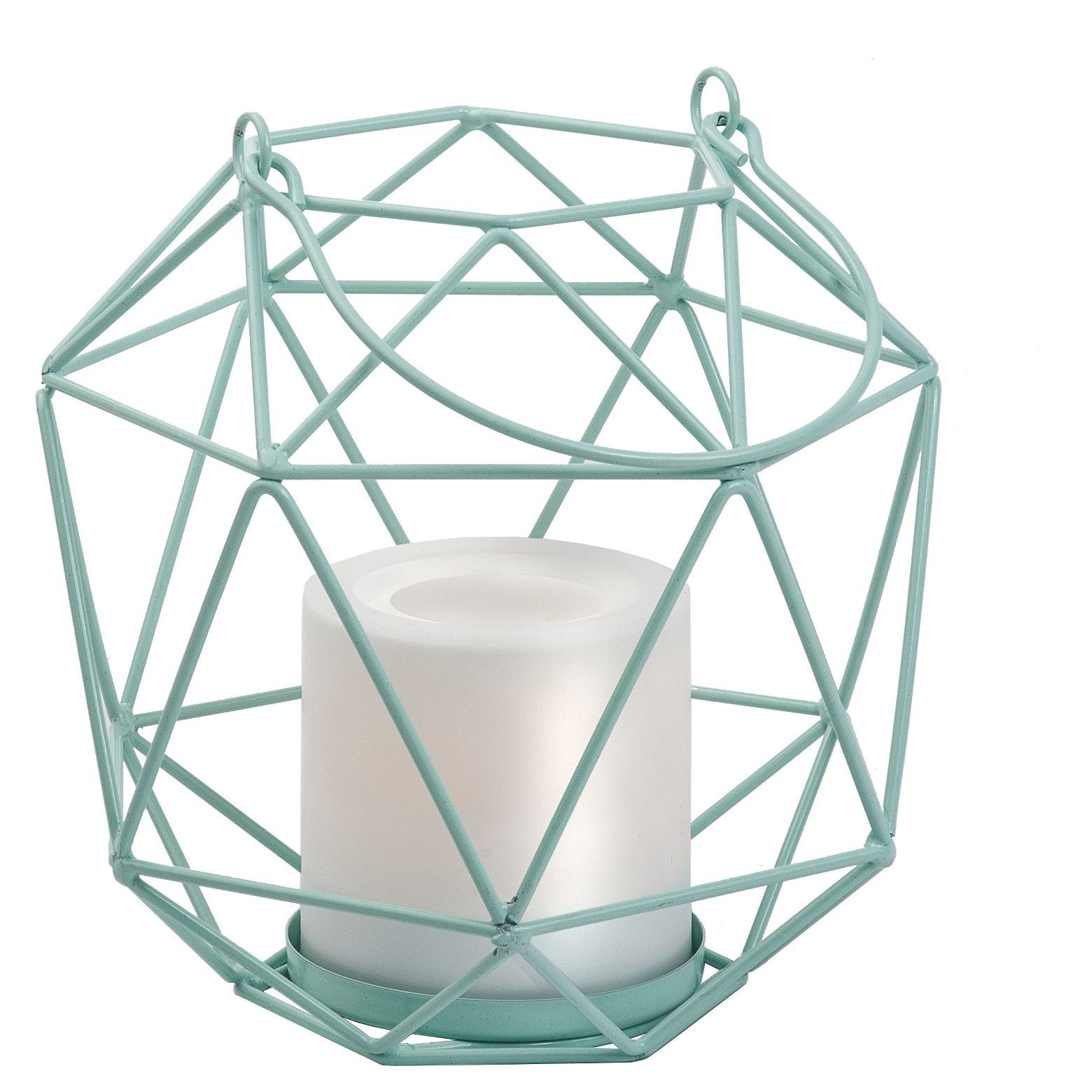Add A Contemporary Design Element To Your Garden Or Patio Area With The Room Essentials 6 Quo Metal Lanterns Battery Operated Lanterns Battery Operated Candles