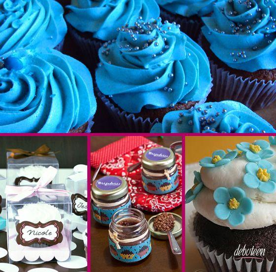 f881a6187a15f Festa azul dos seus sonhos! | 15 anos | Festa azul, Decoração festa ...