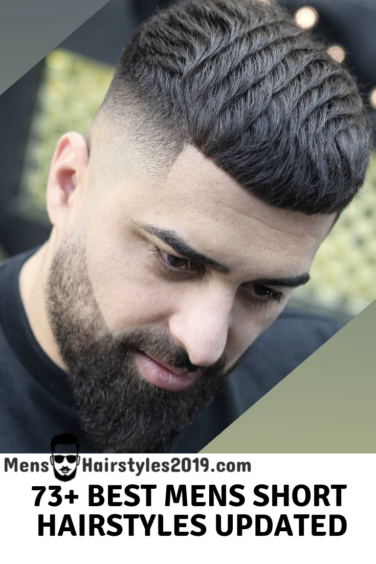73+ Freshest Mens Short Hairstyles 2019 Updated Gallery inc ...