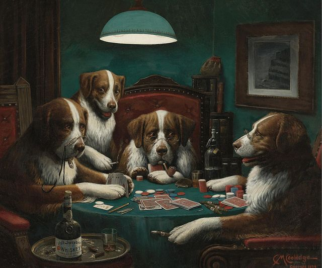 Cassius Marcellus Coolidge - THE POKER GAME. 1894    1844-1934 by ros_with_a_prince, via Flickr