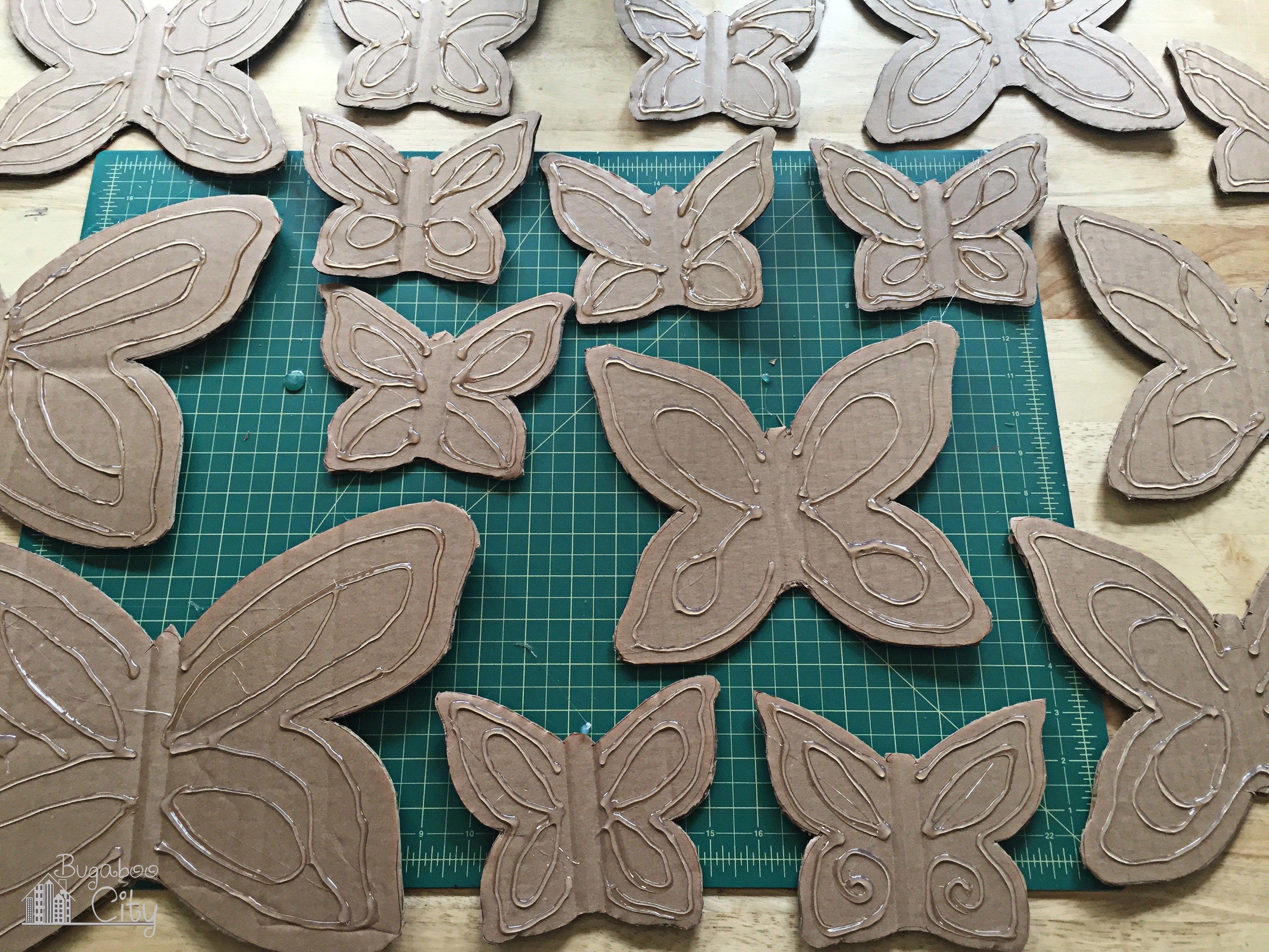 Diy Butterfly Garden Ornament Garden Ornaments Diy Butterfly
