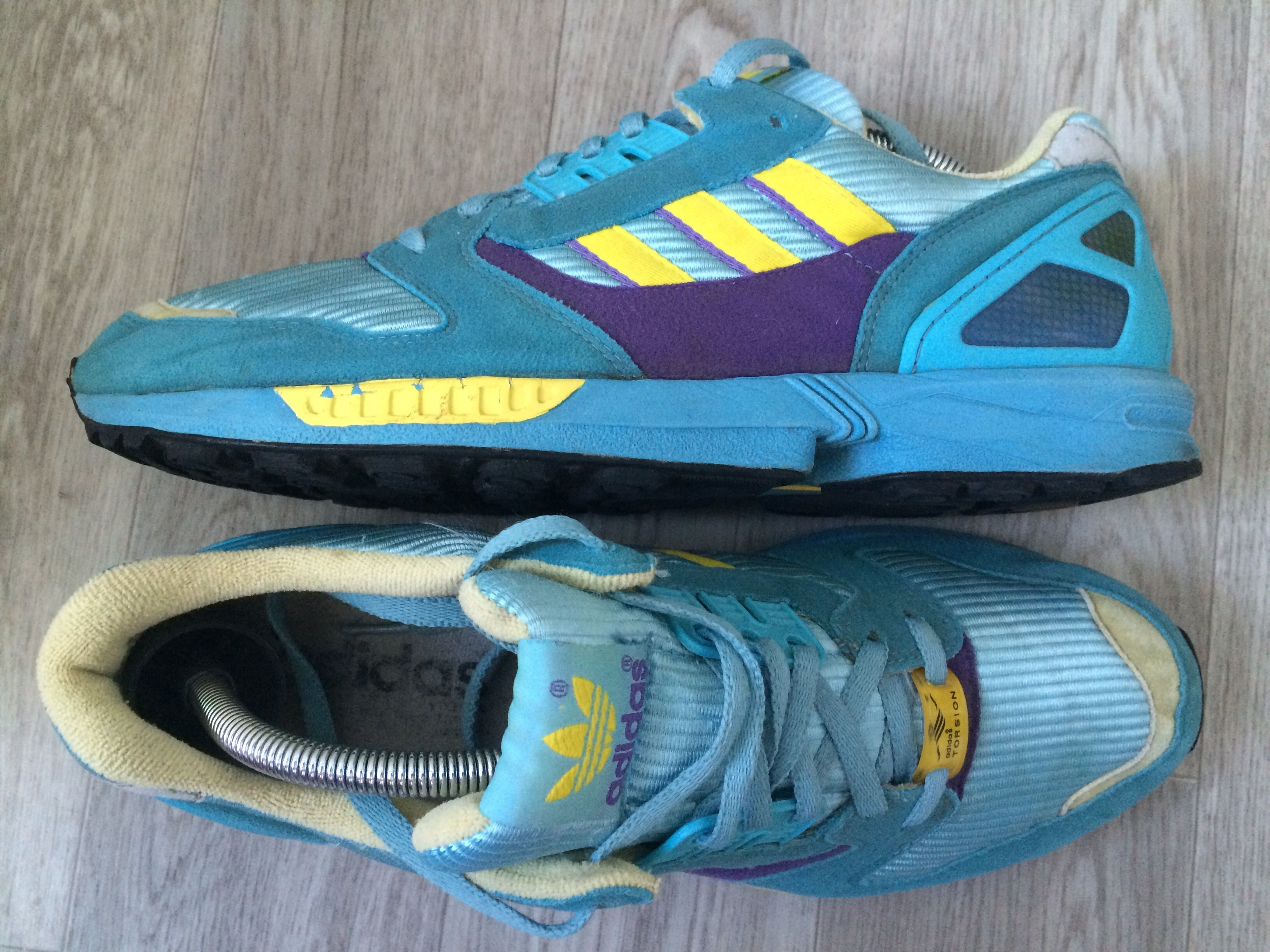 cb0a0fd6e42c Adidas ZX 8000. Article  087852. Release  1998. Made in Thailand.   adidasvintage  adidaszx8000