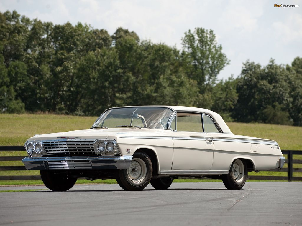 1962 409 Impal North American Muscleclassicpro Stock Cars Pontiac Factory Parts Impala Ss Lightweightbuilt To Compete Against The Aluminum Front End Constructed By Lightweight Impalas Came With An