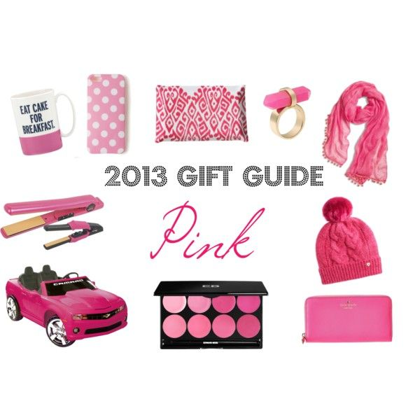 2013 HOLIDAY GIFT GUIDE : PINK