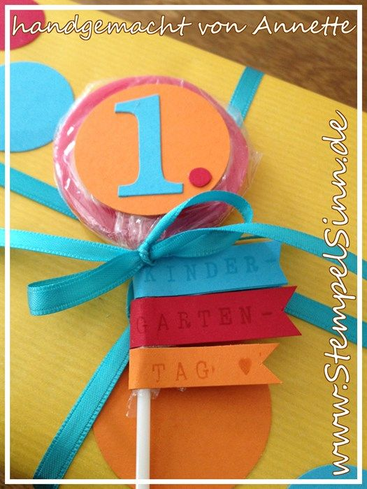 Geschenk Zum 1 Kindergartentag Bastelideen Geschenke Und