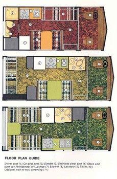 Winnebago Interior Floor Plans Winnebago Brave Winnebago Classic Campers