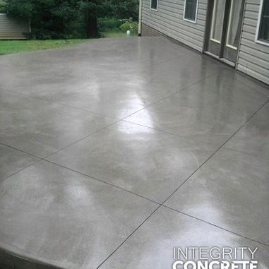 simple patio designs concrete. I Like The Smooth And Simple Patio With Varigated Coloring - Think This Is Concrete Designs