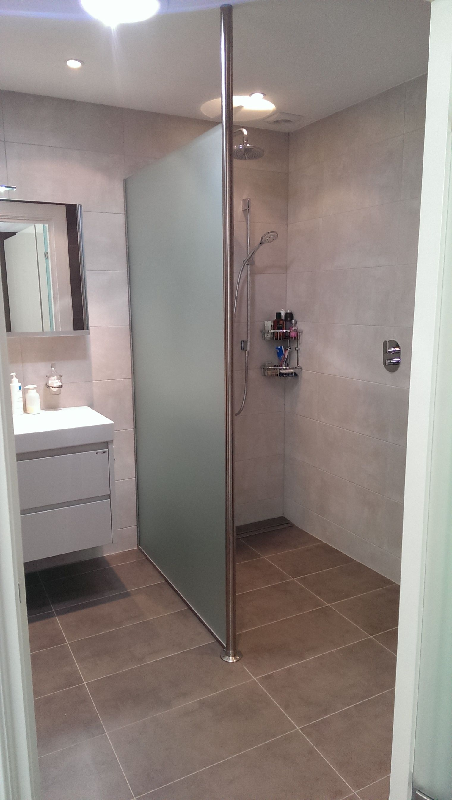 inloopdouche badkamer inspiratie vidre glastoepassingen