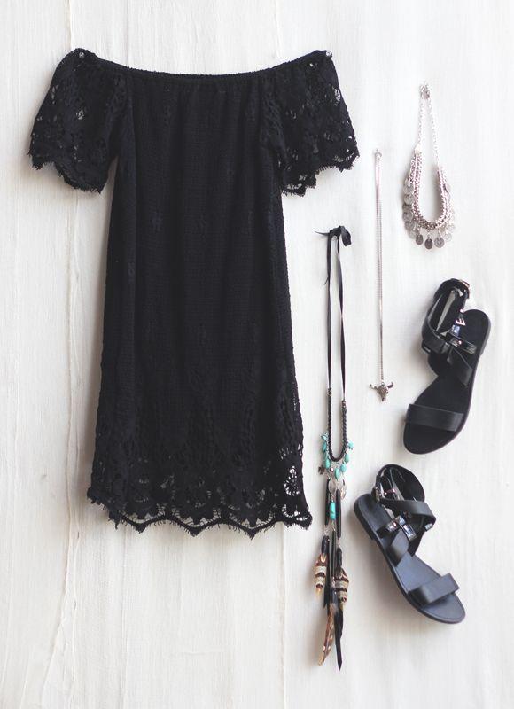 farbe der schuhe zu schwarzem kleid 50 ideen outfits. Black Bedroom Furniture Sets. Home Design Ideas