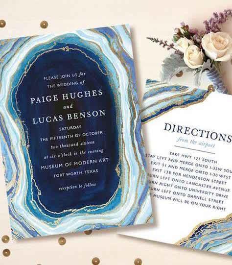 19 Wedding Invitations That Deserved To Be Framed Forever