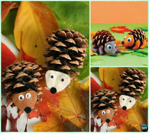 pine cone craft ideas for kids