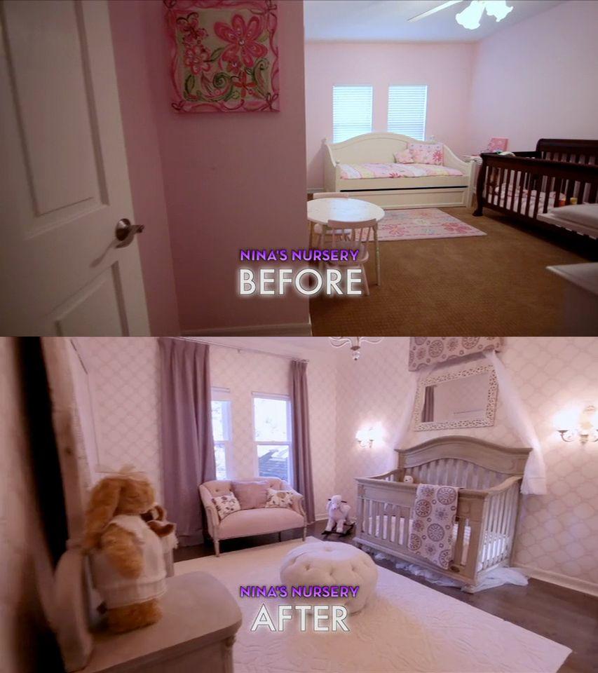 #Dreambuilders Designer Nina's Re-designed #nursery
